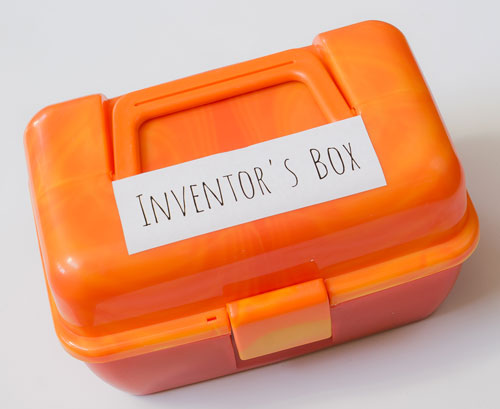 Inventor's Box for Little Kids Lid