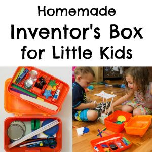 Homemade Inventors Box for Little Kids