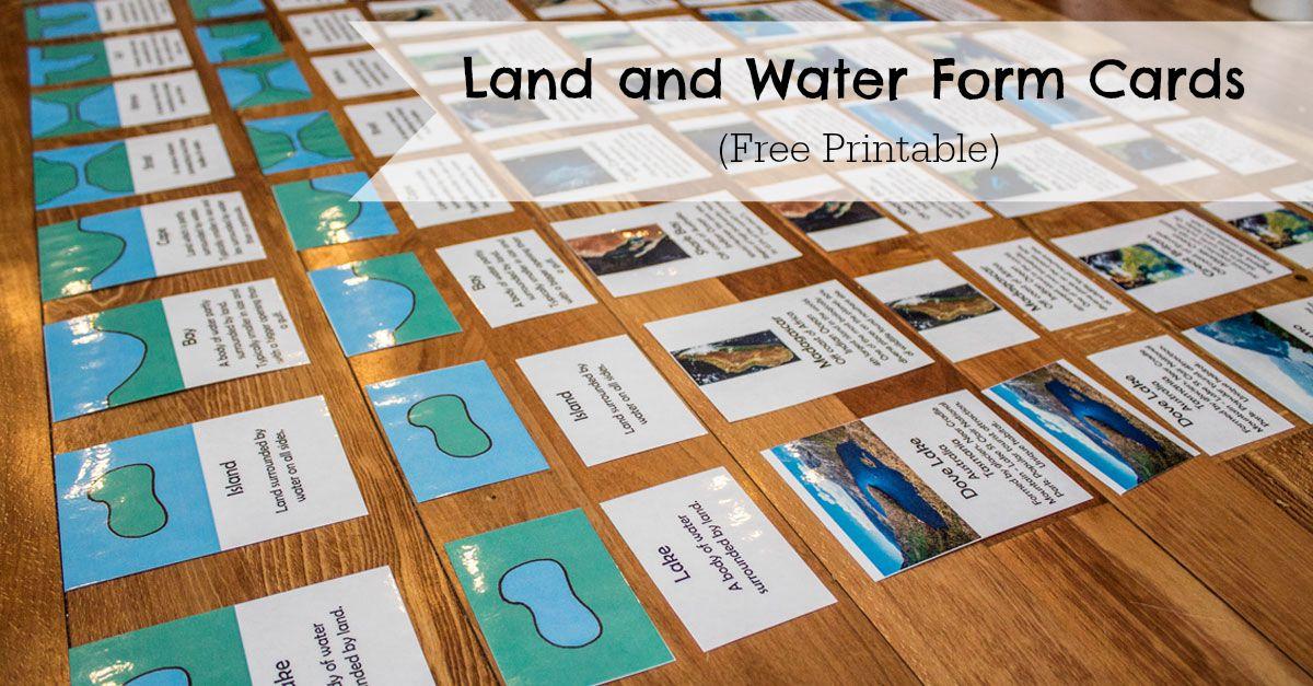 Image Result For Free Printable Landform