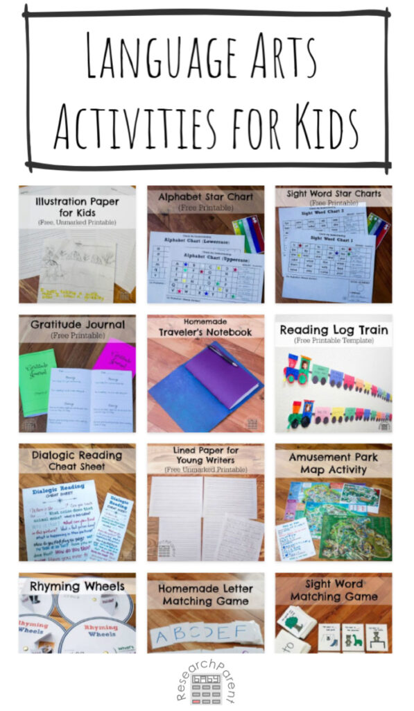Language Arts Activities for Kids