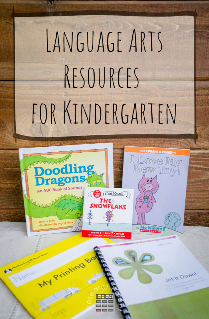 Language Arts Resources for Kindergarten
