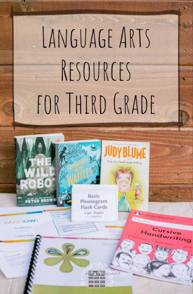 Language Arts Resources for Third Grade