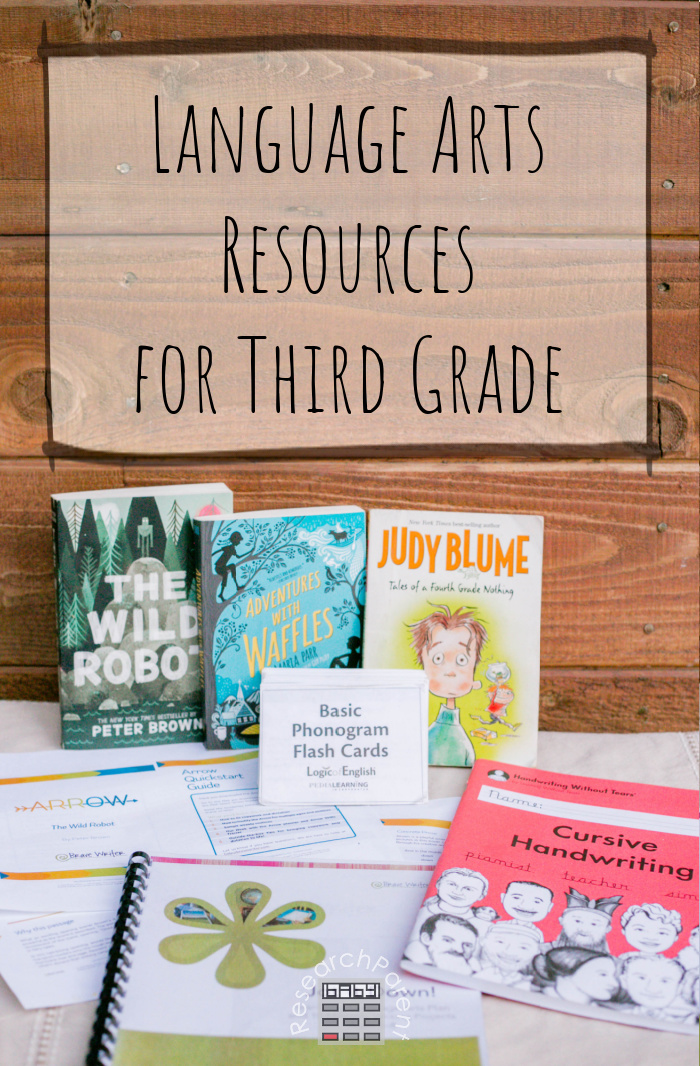 Language Arts Resources for Third Grade
