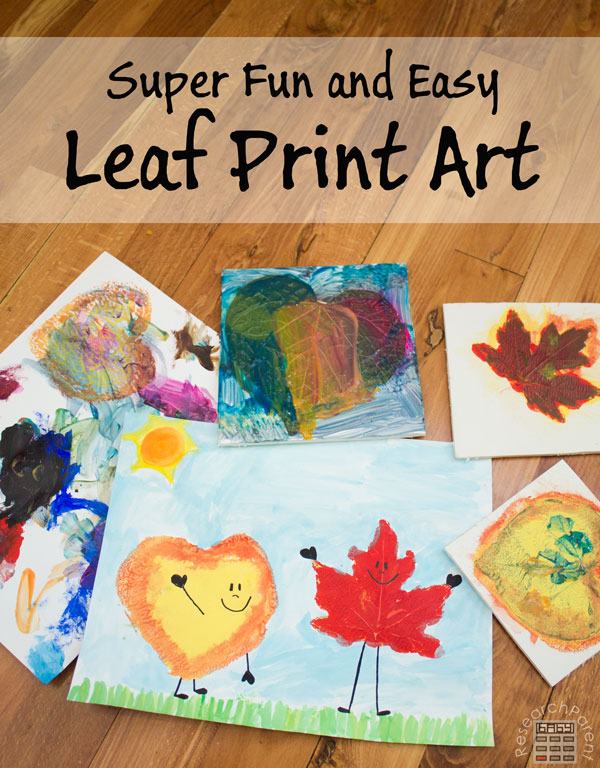 Leaf Print Art by ResearchParent.com