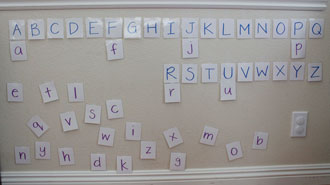 Letter Matching Undone