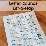 Letter Sounds Lift-a-Flap