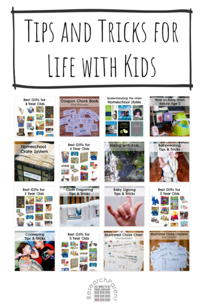 Tips and Tricks for Surviving Life with Kids