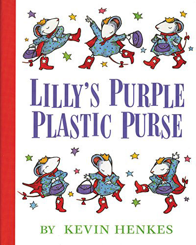 Lilly's Purple Plastic Purse by Keven Henkes