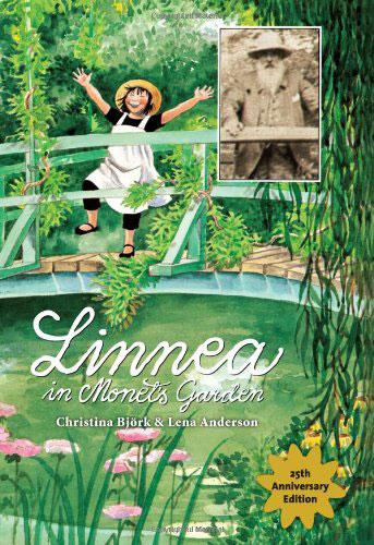 Linnea in Monet's Garden by Cristina Bjork