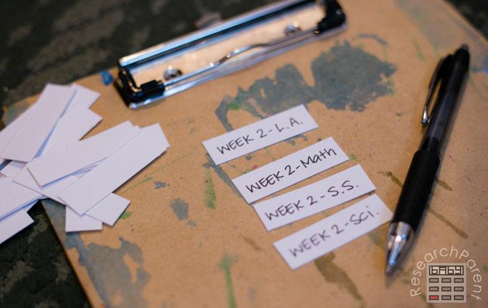 Make labels for hanging folders