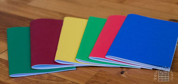 Booklets with clean edges