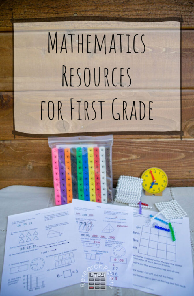 Mathematics Resources for First Grade