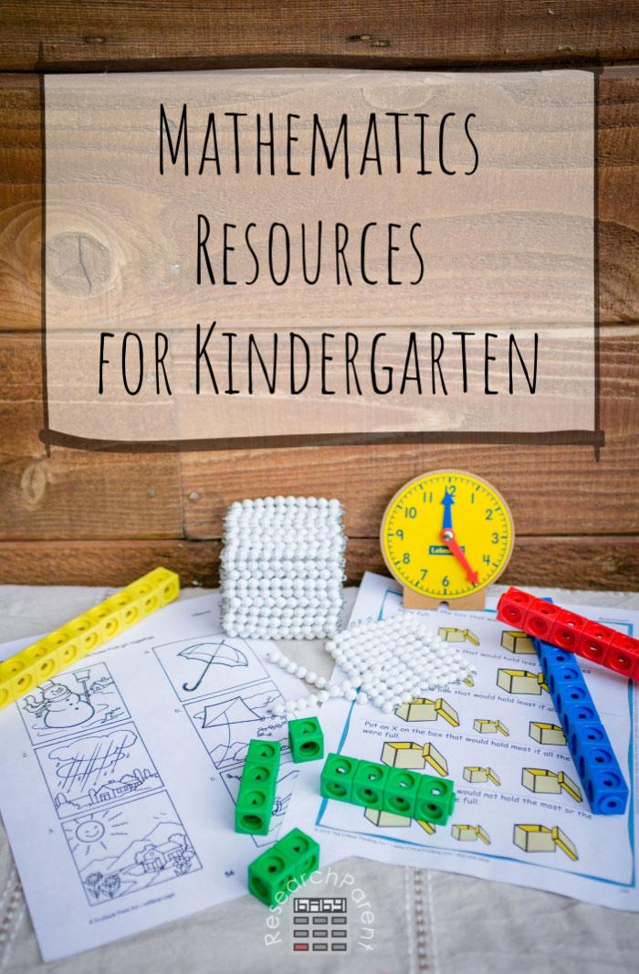 Mathematics Resources for Kindergarten