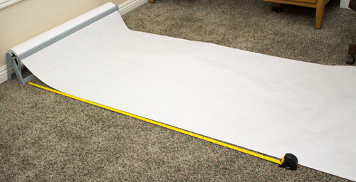 Measure Out Butcher Paper for Sun