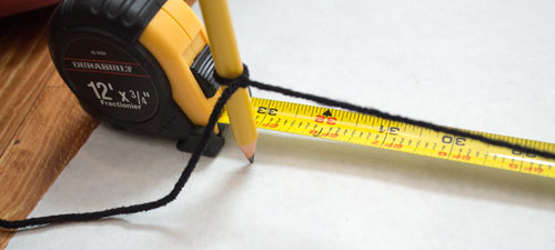 Measure Yarn to Correct Length