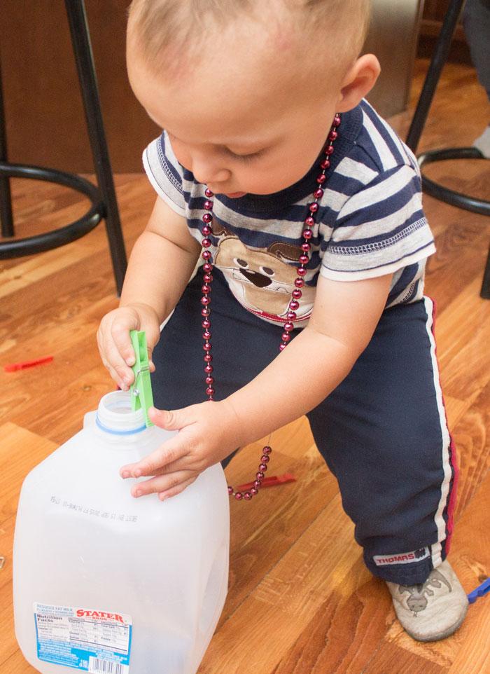 Milk Jug Drop