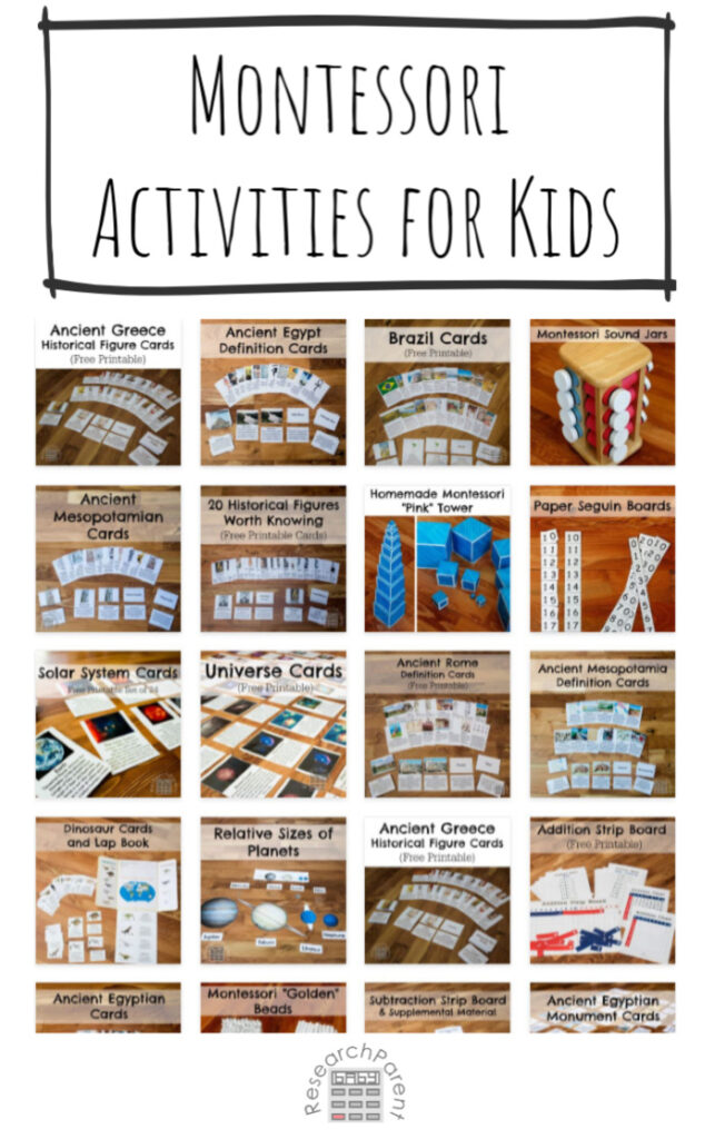 Montessori Activities for Kids