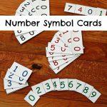 Montessori Number Symbol Cards