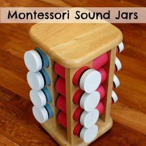 Montessori Sound Jars