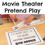 Movie Theater Pretend Play