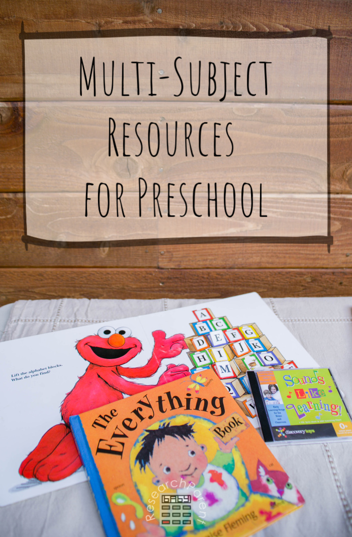Multi-subject Resources for Preschool