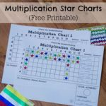 Multiplication Star Chart
