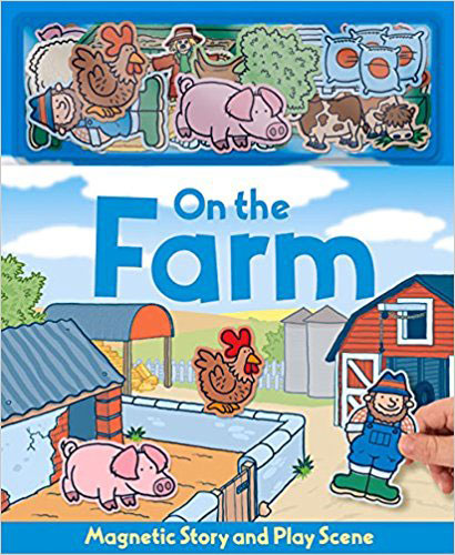 On the Farm Magnetic Book