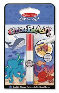 On-the-Go Colorblast! Activity Book by Melissa and Doug