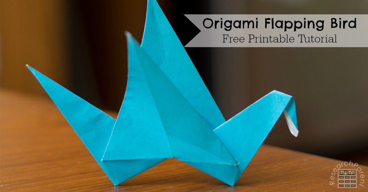 Origami Flapping Bird ...