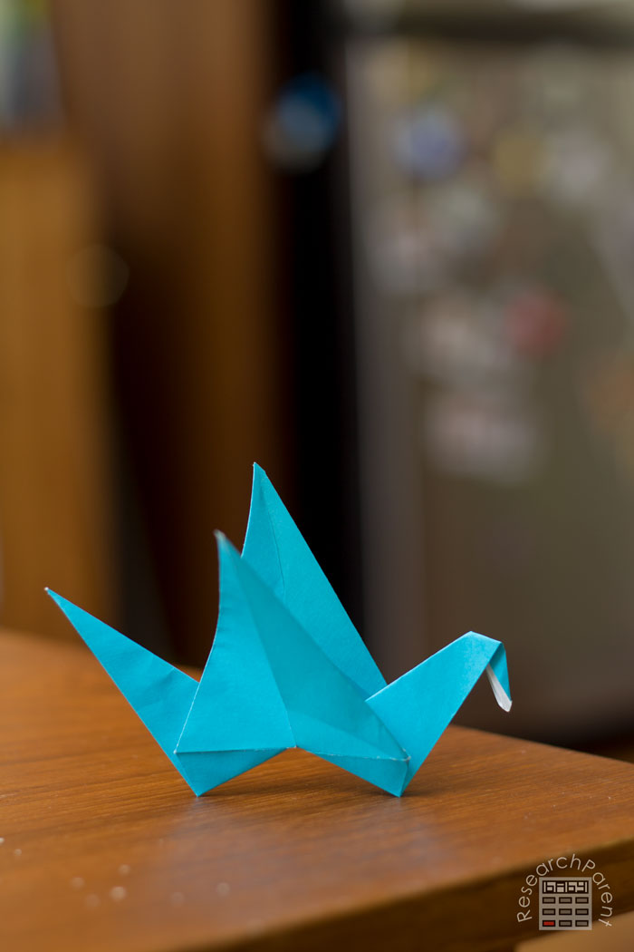 How to Make an Origami Flapping Bird: 14 Steps (with Pictures) | 1050x700