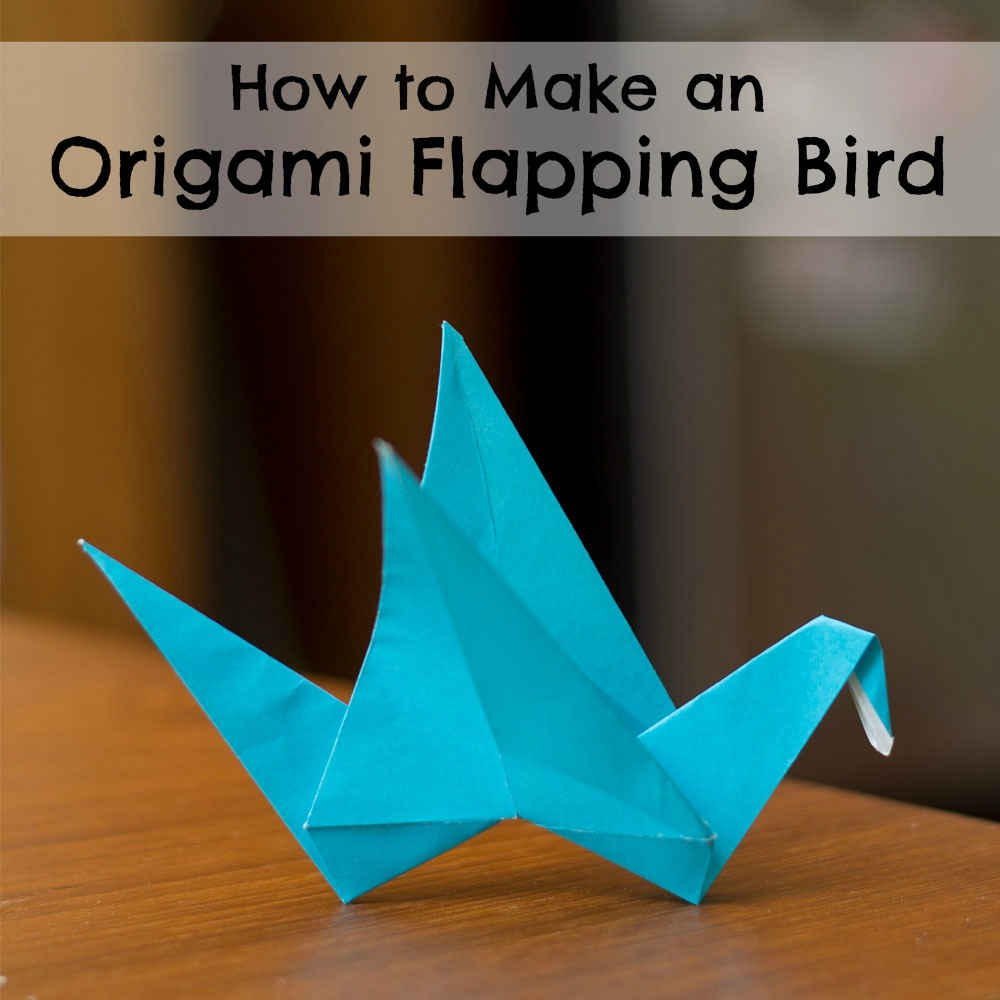 How to Make an Electronic Origami Crane That Flaps Its Own Wings ... | 1000x1000