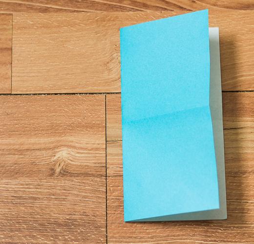 Origami Bird Step 4