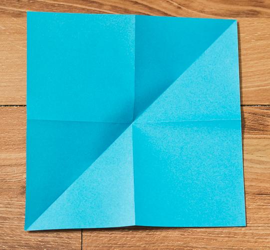 Origami Bird Step 7