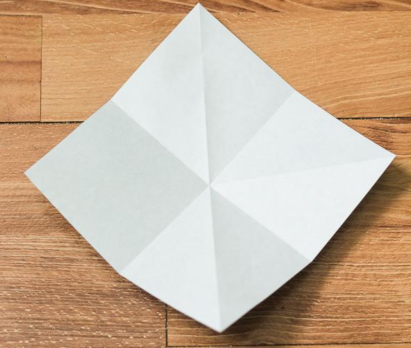 Origami Bird Step 9