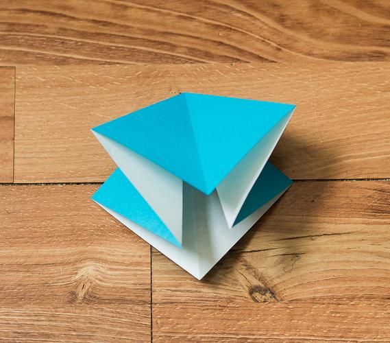 Origami Bird Step 10