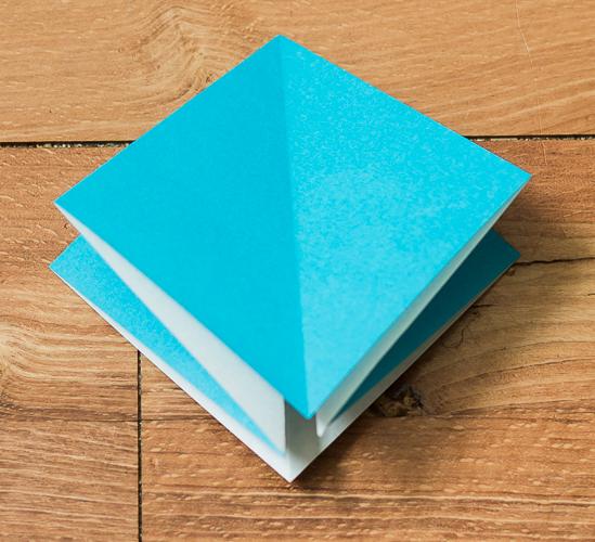 Origami Bird Step 11