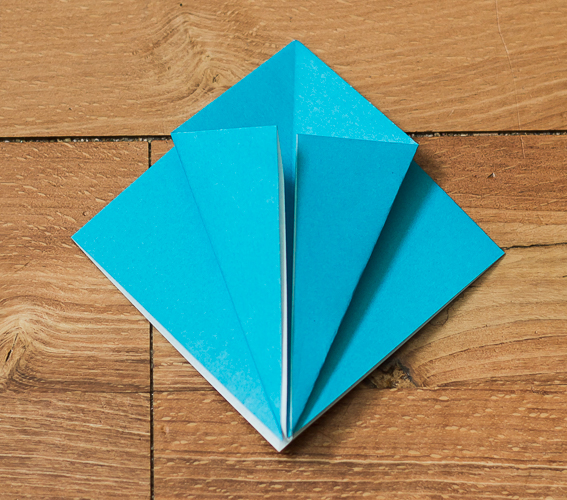 Origami Bird Step 12