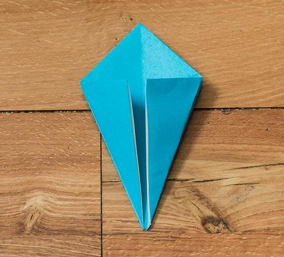 Origami Bird Step 14