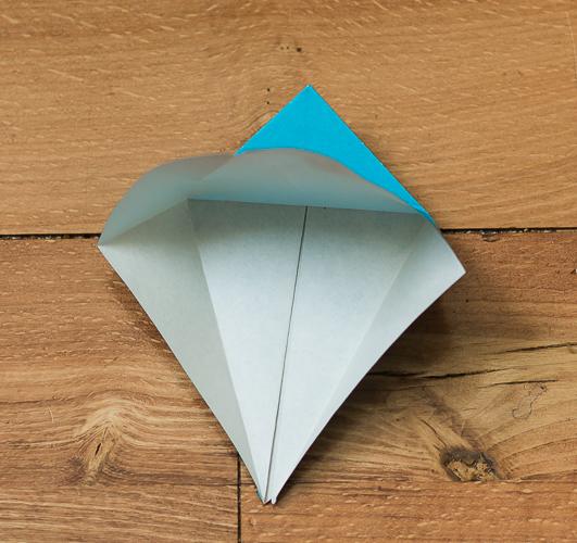 Origami Bird Step 18