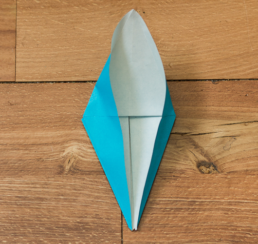 Origami Bird Step 19