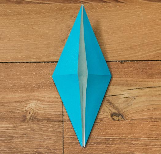 Origami Bird Step 20