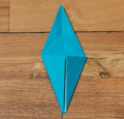 Origami Bird Step 21