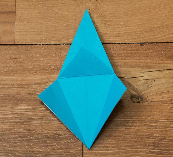 Origami Bird Step 23