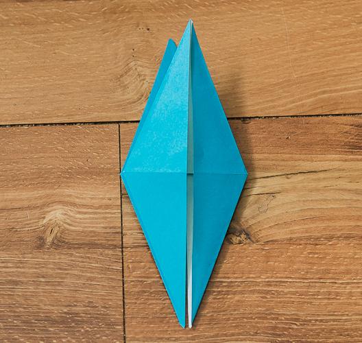 Origami Bird Step 24