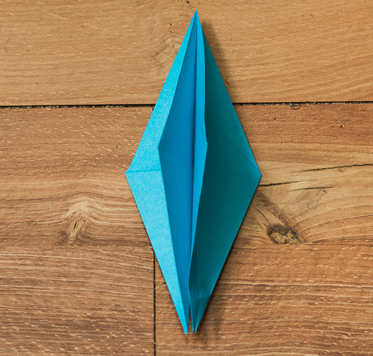 Origami Bird Step 25