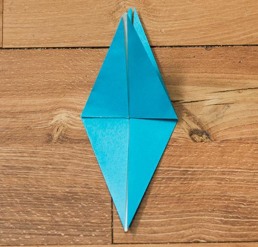 Origami Bird Step 27