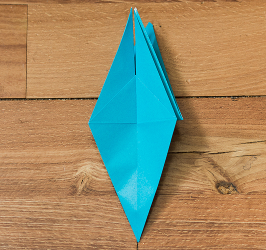 Origami Bird Step 28