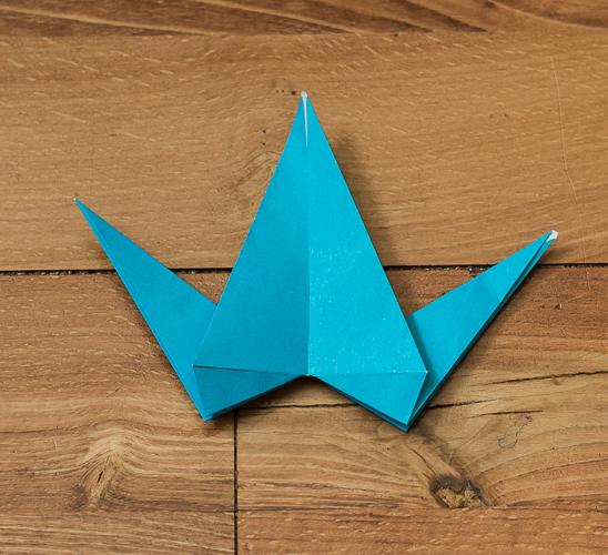 Origami Bird Step 30