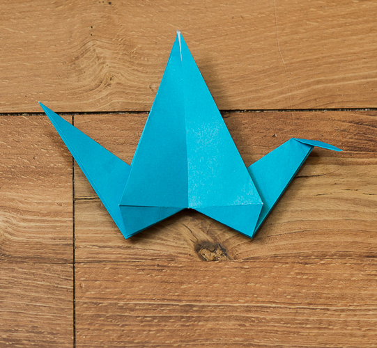 Origami Bird Step 31