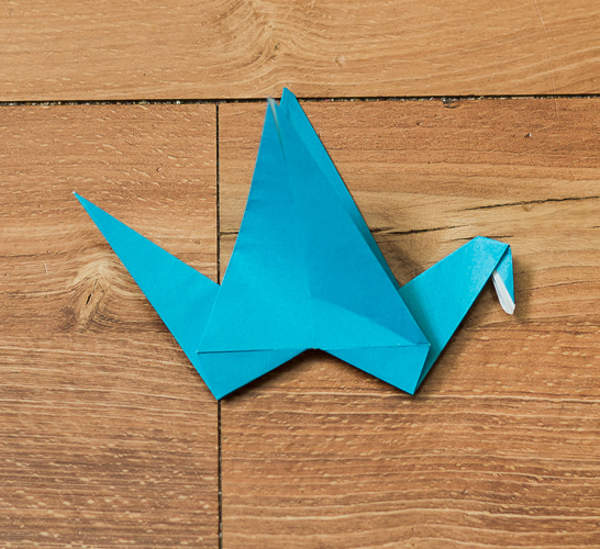 Origami Bird Step 35